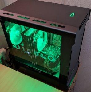 Phanteks Enthoo Evolv mATX Tempered Glass - Custom Build