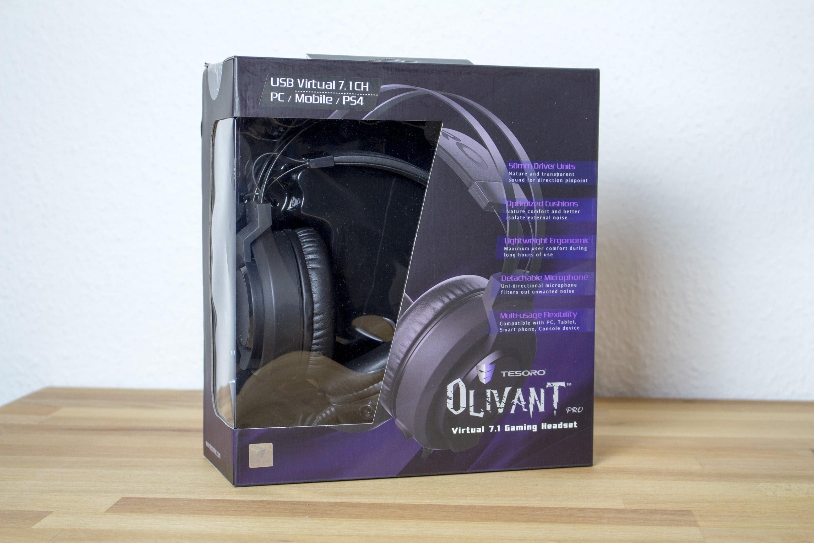 Photo of Tesoro Olivant Pro Review: 7.1 Surround Headset for Only 50 Euro