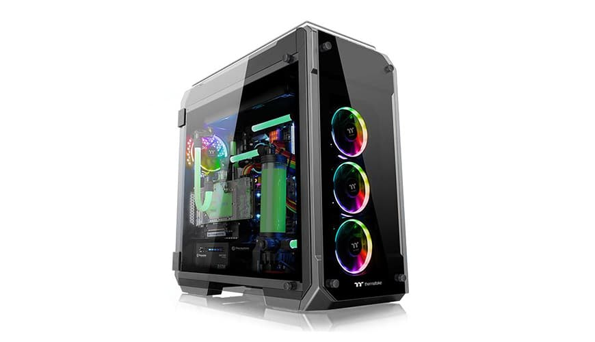 Photo of Thermaltake View 71 TG RGB Review: A Full-Tower-Showcase Made of Steel and Glass