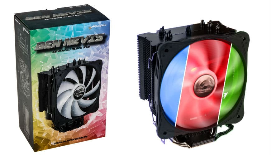 Photo of Alpenföhn Ben Nevis Advanced RGB Black Edition Review: A CPU Cooler with a Light Coming On!