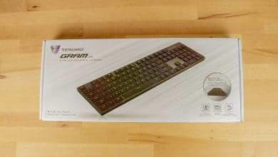 Photo of Tesoro Gram XS Review: Probably the Flattest Mechanical Gaming Keyboard with RGB Lighting
