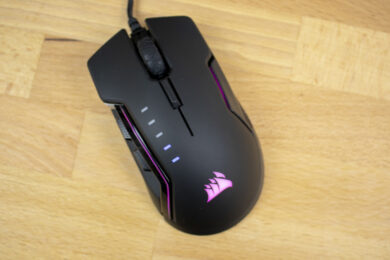 Corsair Glaive RGB mit Beleuchtung