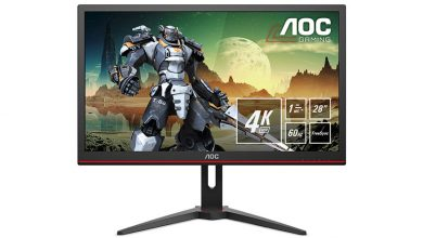 Photo of AOC G2868PQU: New 4K Gaming Monitor with HDR