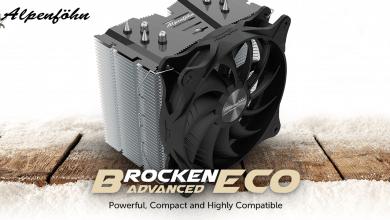 Photo of Alpenföhn Brocken ECO Advanced CPU Cooler: Top Cooling & Easy Installation