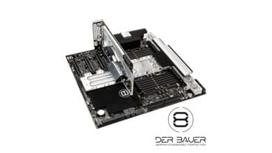 Photo of der8auer LINC – Monoblock Water Cooling for Mainboard, CPU and Graphics Card