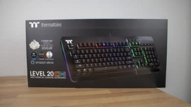 Photo of Thermaltake Level 20 RGB Gaming Keyboard with Impressive RGB Lighting Reviewed