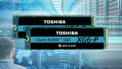 Photo of Toshiba XG6-P-SSD: NVMe-SSD With Up to 2 TB of Memory