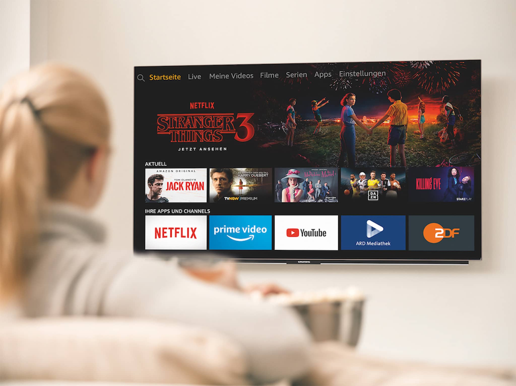 Amazon Introduces TV Devices with Integrated Fire TV Functions