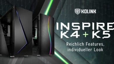 Photo of Affordable ATX Gaming Cases Kolink Inspire K4 & K5