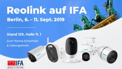 Photo of Reolink Introduces New Surveillance Cameras at IFA