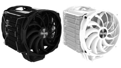 Photo of Alpenföhn Brocken 3 Black Edition – Massive Tower Cooler with Two Fans