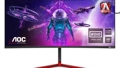 Photo of Huge 35″ gaming monitor without compromise? – AOC AGON AG353UCG