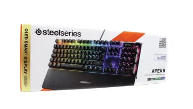 Photo of SteelSeries Apex 5 – the Rubberdome gaming keyboard that wants to be mechanical