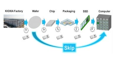 Photo of Wafer-Level SSD – New approach to mass storage production at Kioxia