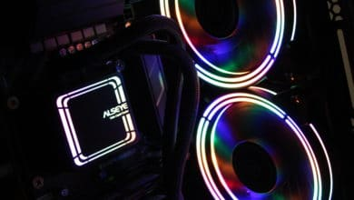 Photo of Inter-Tech Alseye H240 and H360 – inexpensive RGB water cooling systems under test