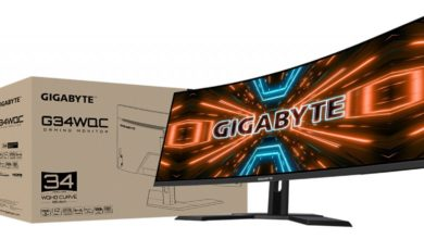 Photo of Gigabyte: New Curved Monitor announced