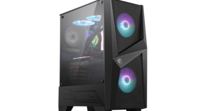 Photo of MSI MAG Forge 100R – low cost case with glass