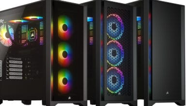 Photo of Corsair's latest midi tower cases: 4000D, 4000D Airflow & 4000X RGB