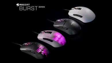 Photo of Burst Pro and Core: Roccat introduces two extra-light gaming mice