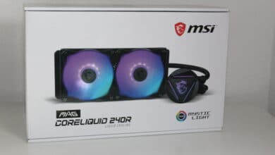 Photo of MSI MAG CoreLiquid 240R – the first compact water cooling system from MSI under test