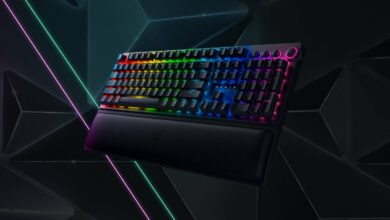 Photo of Razer Blackwidow V3 Pro: Wireless gaming keyboard now available