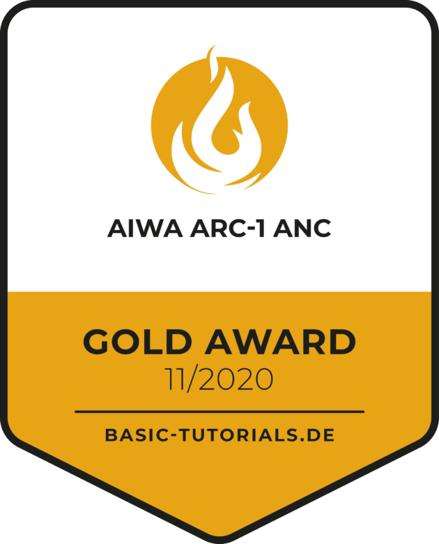 Gold Award op Basic Tuturials dot DE
