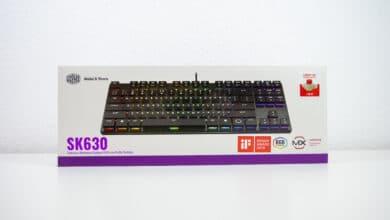 Photo of Mechanical keyboard in flat – Cooler Master SK630 under test