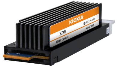 Photo of KIOXIA launches new SSD with PCIe 4.0 OCP-NVMe cloud specification