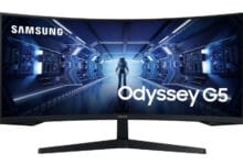 Photo of Samsung C34G55T – 34-inch gaming monitor with 165 Hz and 1,000R introduced