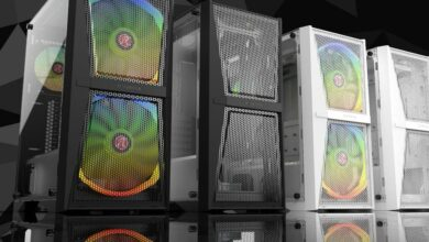 Photo of Lots of mesh in the new Raijintek Silenos MS & MS Pro cases!