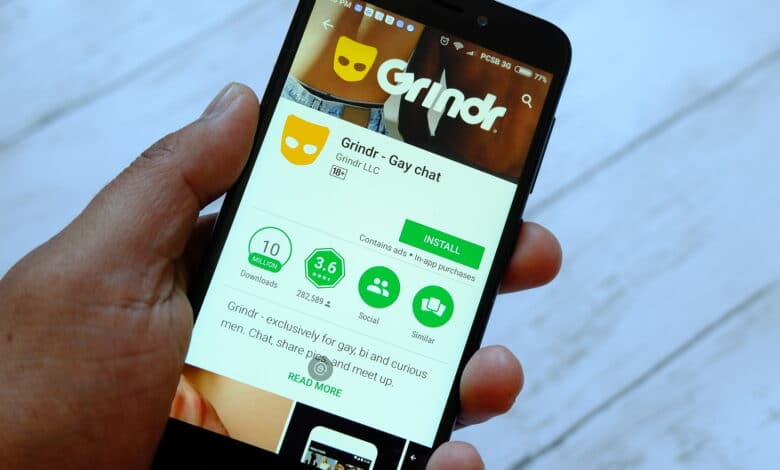 Grindr account on two devices