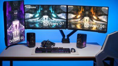 Bild der neuen Samsung Odyssey-Monitore