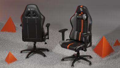 Bild des SPC Gear SR400 OR Gaming-Stuhl