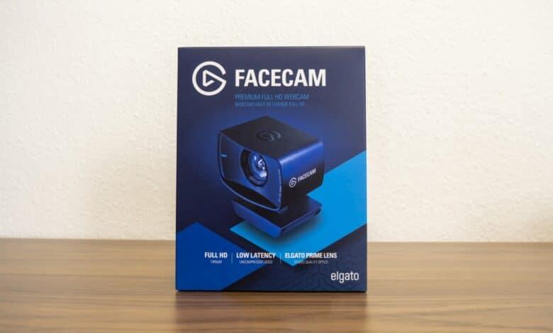 Bild der Verpackung der Elgato Facecam
