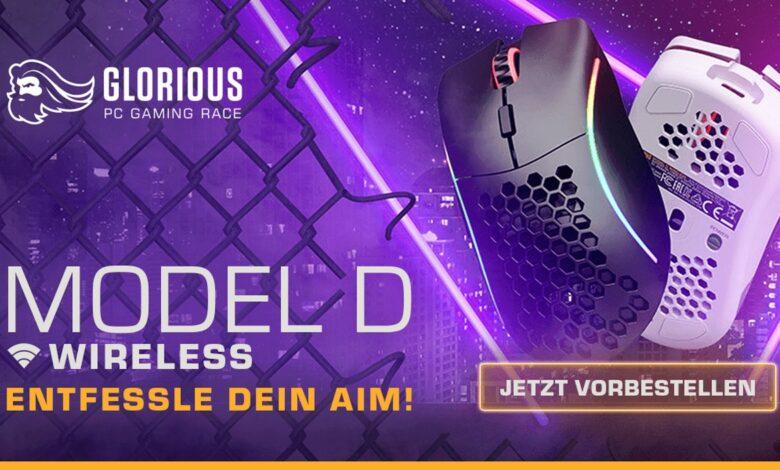 Glorious Model D Wireless