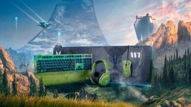 Razer Peripherie Halo Infinite Edition